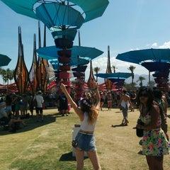 Photo taken at Coachella DoLab by Tyson Q. on 4/19/2014