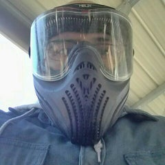 Photo taken at Hell Survivors Paintball Playfield by Jose P. on 11/15/2015