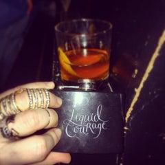 Photo taken at Speak Easy Lounge by Nina on 2/23/2014