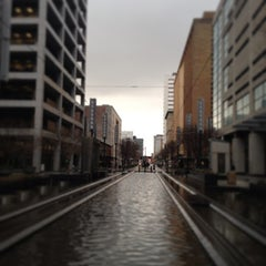 Photo taken at METRORail Main Street Square (Northbound) by Pedro V. on 2/5/2013