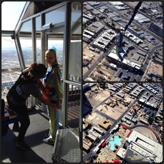 Photo taken at SkyJump by Daria F. on 10/26/2013