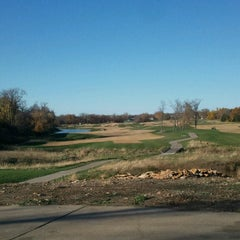 Photo taken at Prairie Highlands Golf Course by John H. on 11/9/2013