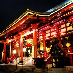 Photo taken at 浅草寺 (Sensō-ji Temple) by Yoshiki I. on 6/19/2013