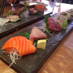 Photo taken at Sushi Ran by Go Find Alice on 7/5/2015