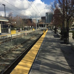 Photo taken at San Fernando VTA Station by Takeshi I. on 12/13/2014