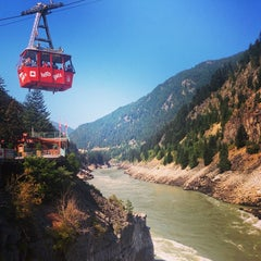 Photo taken at Hell's Gate Airtram by Ruxandra F. on 8/10/2014