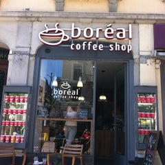 Photo taken at Boréal Coffee Shop by Myrtille B. on 5/27/2013