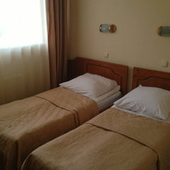 Photo taken at Volkhov Hotel Veliky Novgorod by Roman K. on 11/14/2013