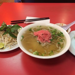 Photo taken at Pho VN One by Eric L. on 10/11/2013