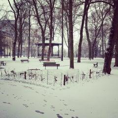 Photo taken at Jardin de l'Archevêché by Maxddz on 1/20/2013