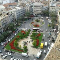Photo taken at Plaça de la Reina by Lyudmyla H. on 4/25/2013