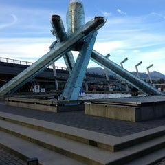 Photo taken at Jack Poole Plaza by Mohammad N. on 2/15/2013