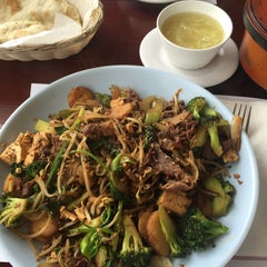 Photo taken at Golden Palace Mongolian BBQ by Mike V. on 5/7/2016