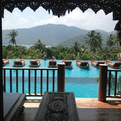 Photo taken at Santhiya Resort And Spa Koh Phangan by Annael S. on 3/11/2013