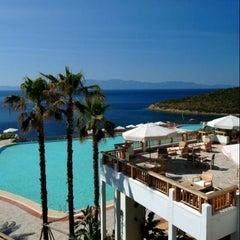 Photo taken at Kempinski Hotel Barbaros Bay by Berna S. on 2/20/2013