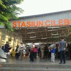 Photo taken at Stasiun Cilebut by Tri W. on 7/8/2013
