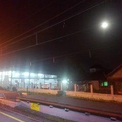 Photo taken at Stasiun Cilebut by Tri W. on 1/6/2015