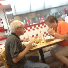 Photo taken at Five Guys by Bob S. on 8/3/2013