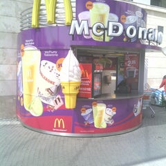 Photo taken at McDonald's by Cihan Ş. on 4/9/2013