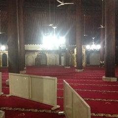 Photo taken at Masjid Gedhe Kauman by Intan K. on 1/1/2014