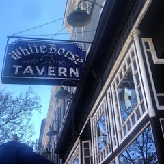 Photo taken at White Horse Tavern by Dylan D. on 5/1/2013
