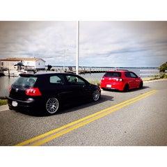 Photo taken at 59th St Beach by Jon S. on 9/26/2013