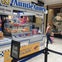 Photo taken at Auntie Anne's by Tom S. on 8/18/2013
