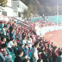 Photo taken at 五台山体育中心 by Scott H. on 10/11/2014