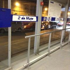 Photo taken at Estación 2 de Mayo - Metropolitano by Franchesca A. on 2/9/2013
