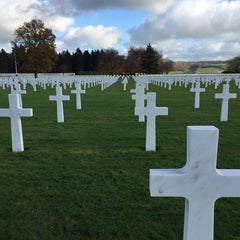 Photo taken at Henri-Chapelle American Cemetery and Memorial by Adrien on 11/24/2014