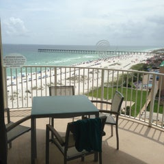 Photo taken at Hilton Pensacola Beach by Kenneth J. on 6/23/2013