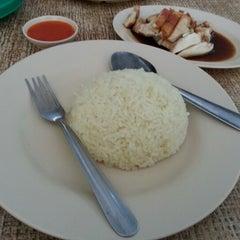 Photo taken at Restoran Nasi Ayam Malaysia by Saniah S. on 2/10/2013