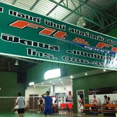 Photo taken at Fit&Fun Sport club by Chanchai W. on 10/28/2012