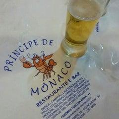 Photo taken at Princípe de Mônaco Bar e Restaurante by Marcelle A. on 5/1/2015