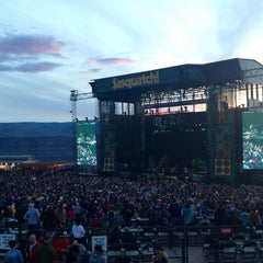 Photo taken at The Gorge Amphitheatre by Molly G. on 5/26/2013
