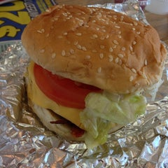 Photo taken at Five Guys by Susie T. on 3/2/2013