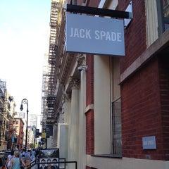 Photo taken at Jack Spade by Jocelyn K. on 5/26/2014