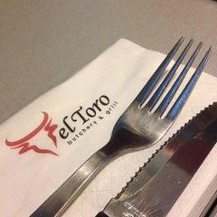 Photo taken at El Toro Butchery & Grill by jay.i on 9/23/2014
