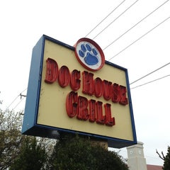 Photo taken at Dog House Grill by Chad P. on 2/6/2013