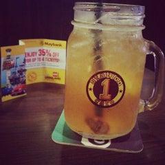 Photo taken at Station 1 Café by Mikoko on 10/8/2012