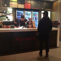 Photo taken at Nando's by Ibrahim B. on 4/13/2014