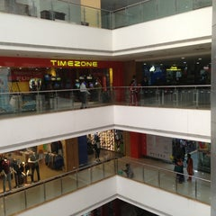 Photo taken at P&M Mall by Jayanta B. on 2/23/2013