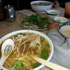 Photo taken at Phở Lê Hòa Phat II by Carina M. on 11/12/2012
