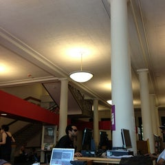 Photo taken at New York Public Library - Tompkins Square Library by Pedro P. on 6/1/2013