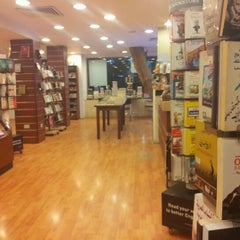 Photo taken at El Shorouk Bookstore by Ahmed S. on 2/8/2013