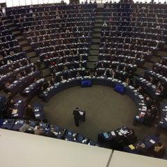 Photo taken at Parlement Européen by Gemmani S. on 2/5/2013