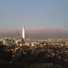 Photo taken at Enoteca Cerro San Cristóbal by Florencia P. on 4/9/2015