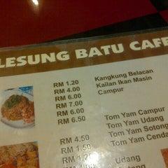 Photo taken at Lesung Batu Cafe by John F S. on 4/22/2013