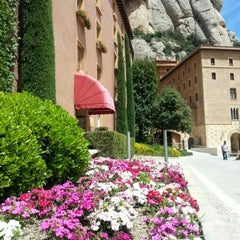 Photo taken at Monistrol de Montserrat by Ekaterina F. on 5/7/2013