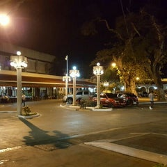 Photo taken at Plaza Del Pilar by JosephLou™ on 4/10/2016